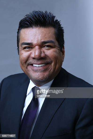 Portrait of comedian George Lopez at an event honoring comedian Dick Gregory with a star on the Hollywood Walk of Fame in Hollywood California...