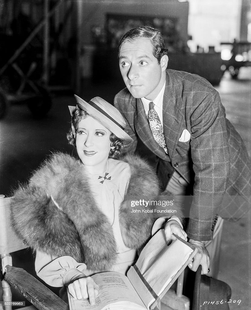 Portrait of comedy double act George Burns and Gracie Allen with Paramount Pictures 1932