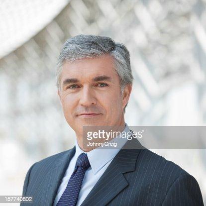 Portrait Of Confident Businessman.