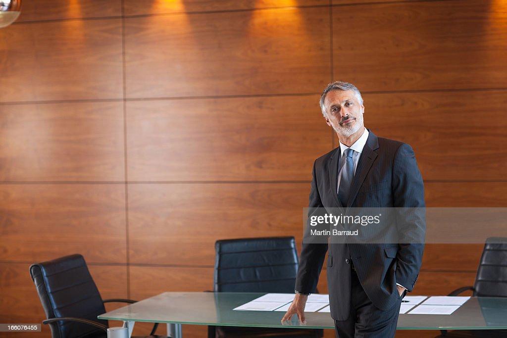Portrait of confident businessman : Stock Photo