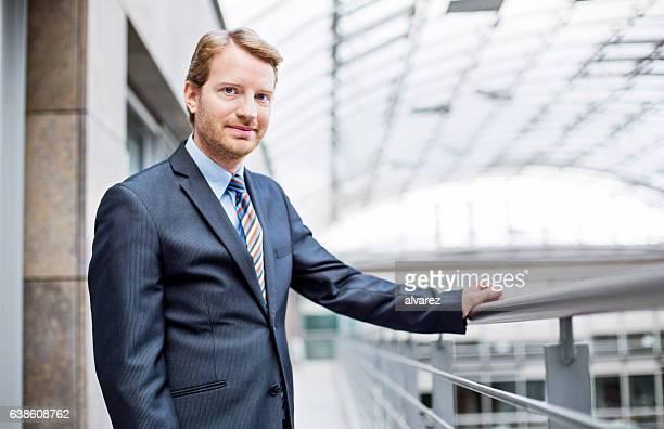 Portrait of confident mature business man