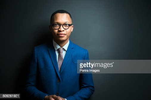 Portrait of confident young businessman