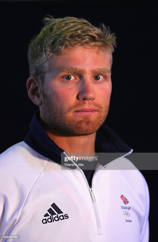 A portrait of Constantine Louloudis a member of the Great Britain Olympic team during the Team GB Kitting Out ahead of Rio 2016 Olympic Games on June 26, 2016 in Birmingham, England.