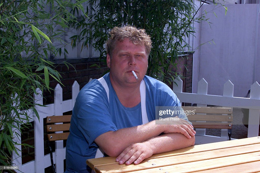 Portrait of controversial Dutch filmmaker Theo van Gogh (47) is seen in this undated file photo. Theo van Gogh was shot and stabbed to death outside his apartment on November 2, 2004 in Amsterdam, Netherlands.