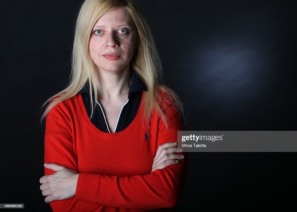 Portrait of controversial Ukrainian-born pianist Valentina Lisitsa . Taken at the Toronto Star studio in Toronto.