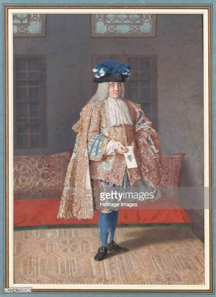 Portrait of Corfitz Ulfeldt in an Ottoman Interior 17401741 Found in the collection of MusÈe du Louvre Paris