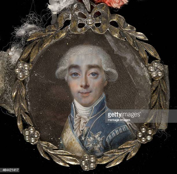 Portrait of Count Hans Axel von Fersen 1784 Found in the collection of the Museo del Prado Madrid