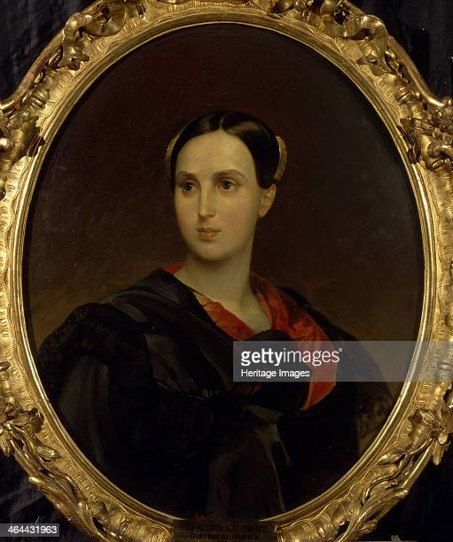 Portrait of Countess Olga Pavlovna Fersen c 1837 Found in the collection of the State Tretyakov Gallery Moscow