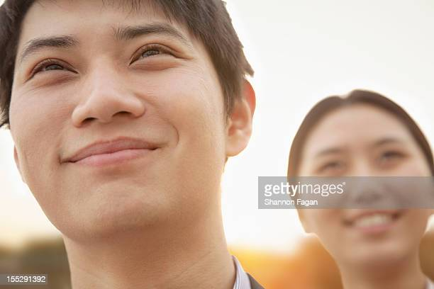 Portrait of Couple with Sunlight