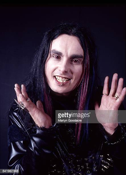 Portrait of Cradle Of Filth vocalist Dani Filth London United Kingdom 2000