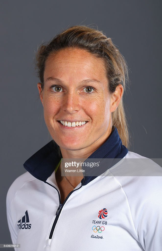 A portrait of <a gi-track='captionPersonalityLinkClicked' href=/galleries/search?phrase=Crista+Cullen&family=editorial&specificpeople=730550 ng-click='$event.stopPropagation()'>Crista Cullen</a> a member of the Great Britain Olympic team during the Team GB Kitting Out ahead of Rio 2016 Olympic Games on June 30, 2016 in Birmingham, England.