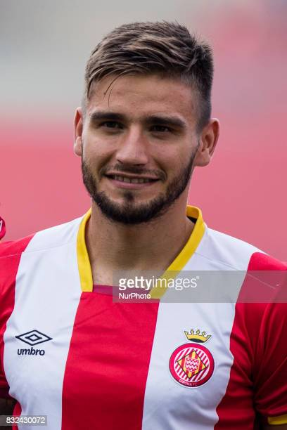 Portrait of Cristian Portugues quotPortuquot from Spain of Girona FC during the Costa Brava Trophy match between Girona FC and Manchester City at...