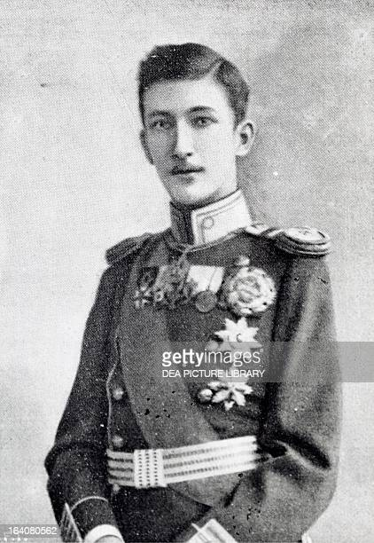 Portrait of Crown Prince Boris of Bulgaria the future king of Bulgaria under the name of Boris III