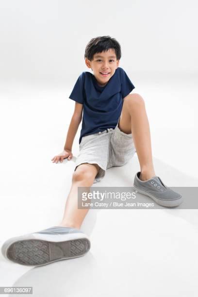 Portrait of cute boy