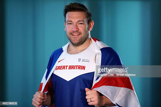 A portrait of Dan Greaves of Great Britain Paralympic Team ahead of the IPC Athletics World Championship at The Torch Hotel on October 16 2015 in...