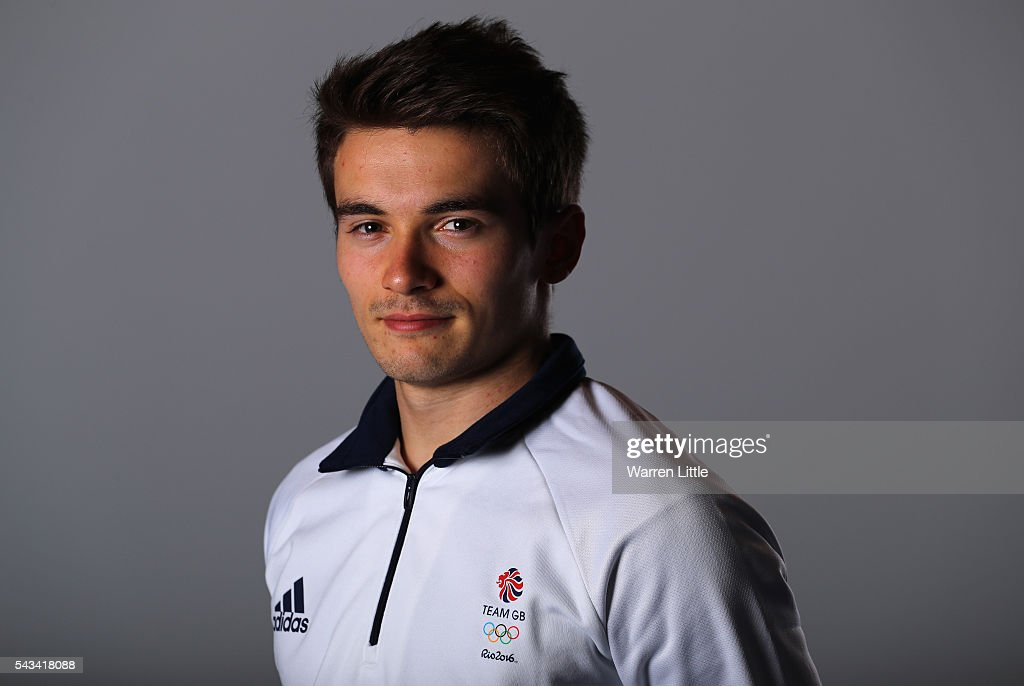 A portrait of <a gi-track='captionPersonalityLinkClicked' href=/galleries/search?phrase=Daniel+Goodfellow&family=editorial&specificpeople=9514270 ng-click='$event.stopPropagation()'>Daniel Goodfellow</a> a member of the Great Britain Olympic team during the Team GB Kitting Out ahead of Rio 2016 Olympic Games on June 28, 2016 in Birmingham, England.