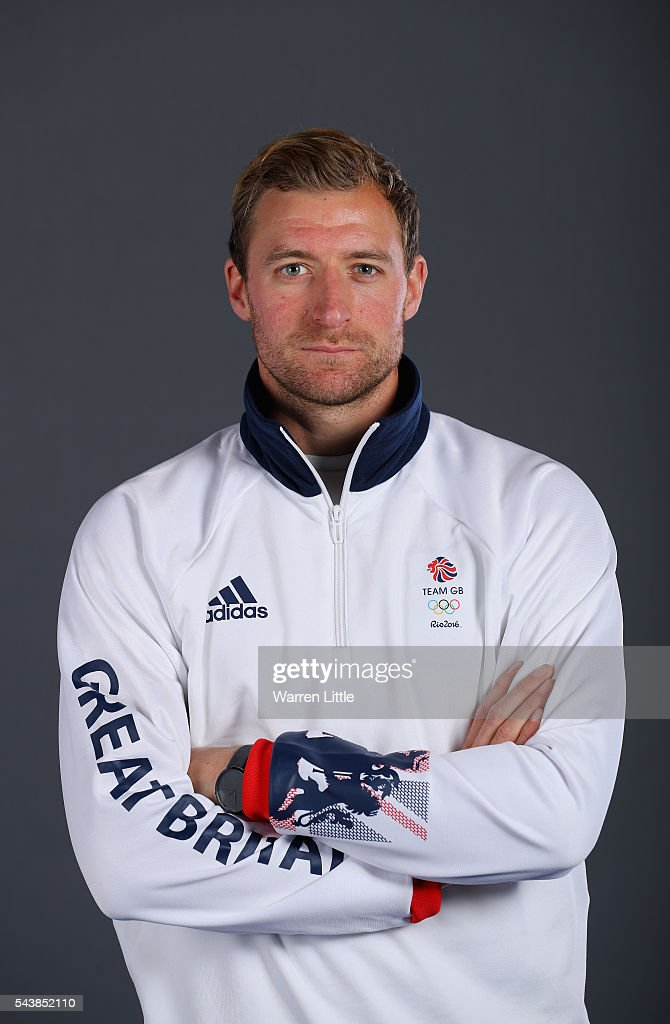 A portrait of Daniel Shingles a member of the Great Britain Olympic team during the Team GB Kitting Out ahead of Rio 2016 Olympic Games on June 30, 2016 in Birmingham, England.