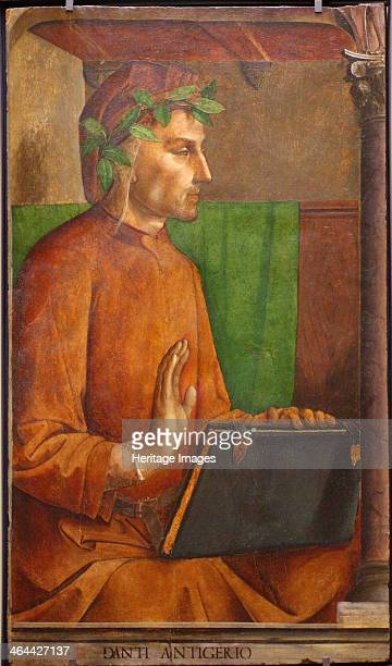 Portrait of Dante Alighieri 1476 Found in the collection of the Louvre Paris