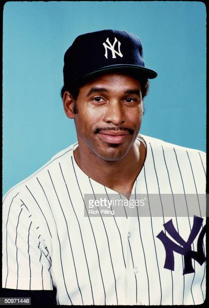 Portrait of Dave Winfield of the New York Yankees in 1981