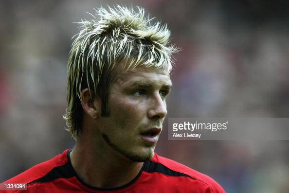 David Beckham Hair 2002 Blond is the colour, F...