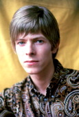Portrait of David Bowie photographed in 1967