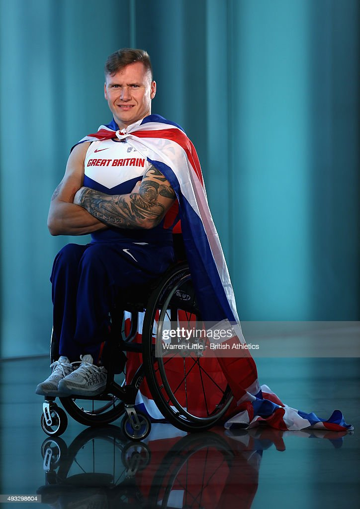 Great Britain Team Portraits for IPC Athletics World Championships
