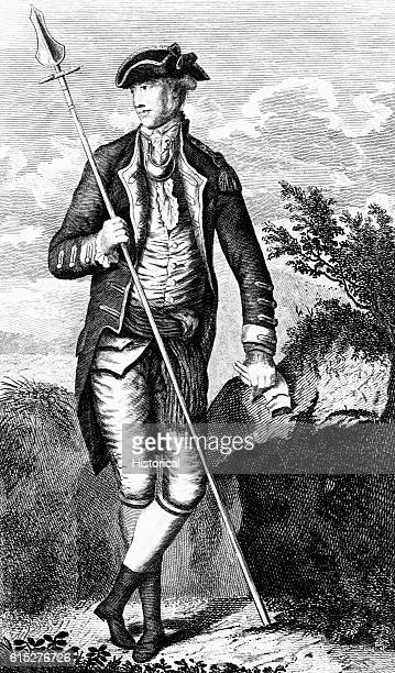 Portrait of David Wooster American officer in the Revolutionary War