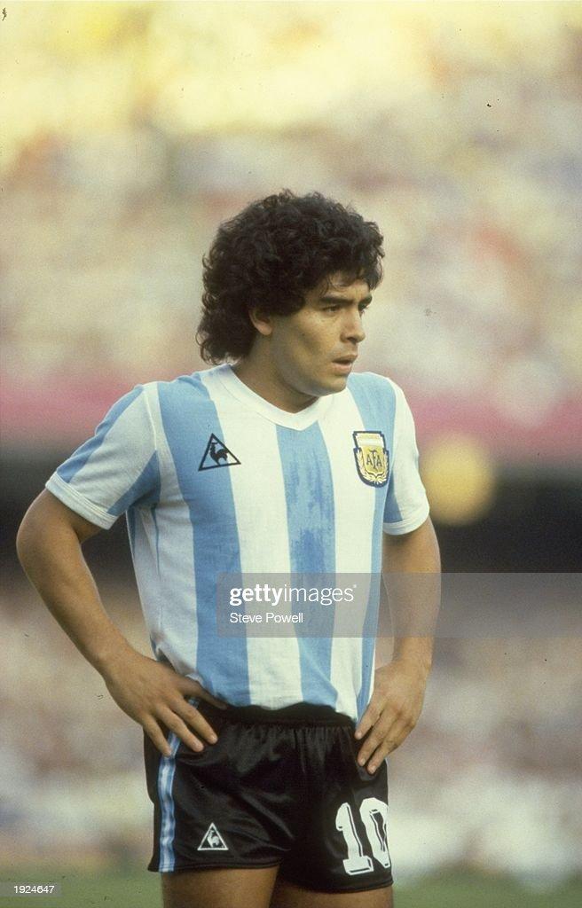 Image result for diego maradona 1982