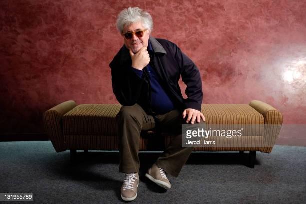 Portrait of Director Pedro Almodovar at TheWrap's Awards Season Screening Series Presents 'The Skin I Live In' Portraits on November 8 2011 in Los...
