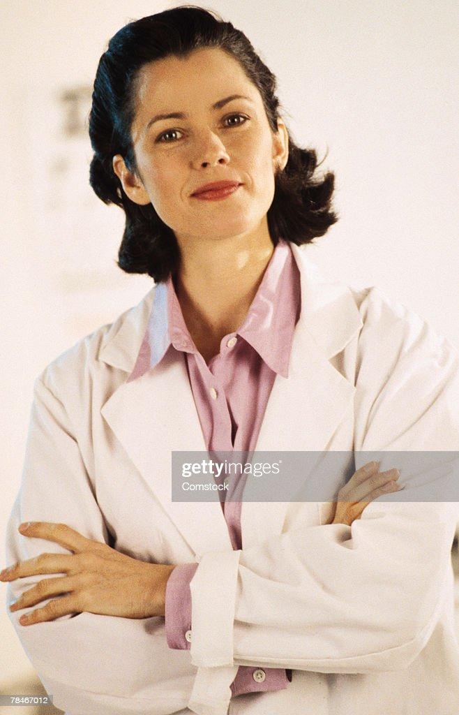 Portrait of doctor : Stock Photo