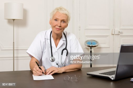Portrait of doctor : Stock Photo