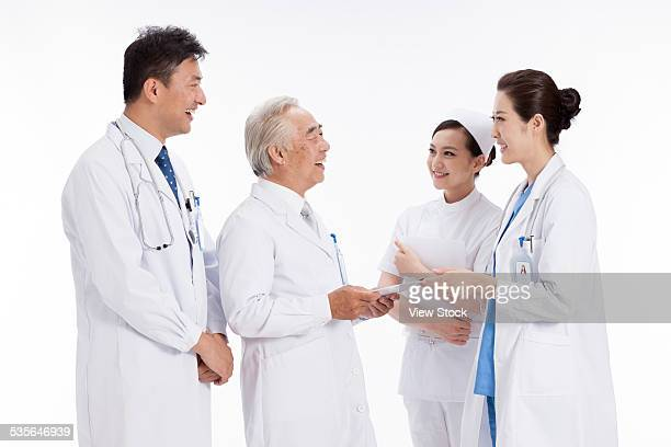 Portrait of doctors and nurse