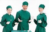Portrait of doctors and nurse