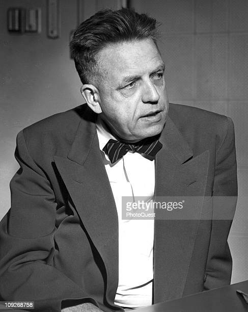Portrait of Dr Alfred Kinsey Director of the Institute for Sex Research Indiana 1965
