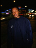 Portrait of Dr Dre American rapper record producer entrepreneur and actor taken in Los Angeles 2000