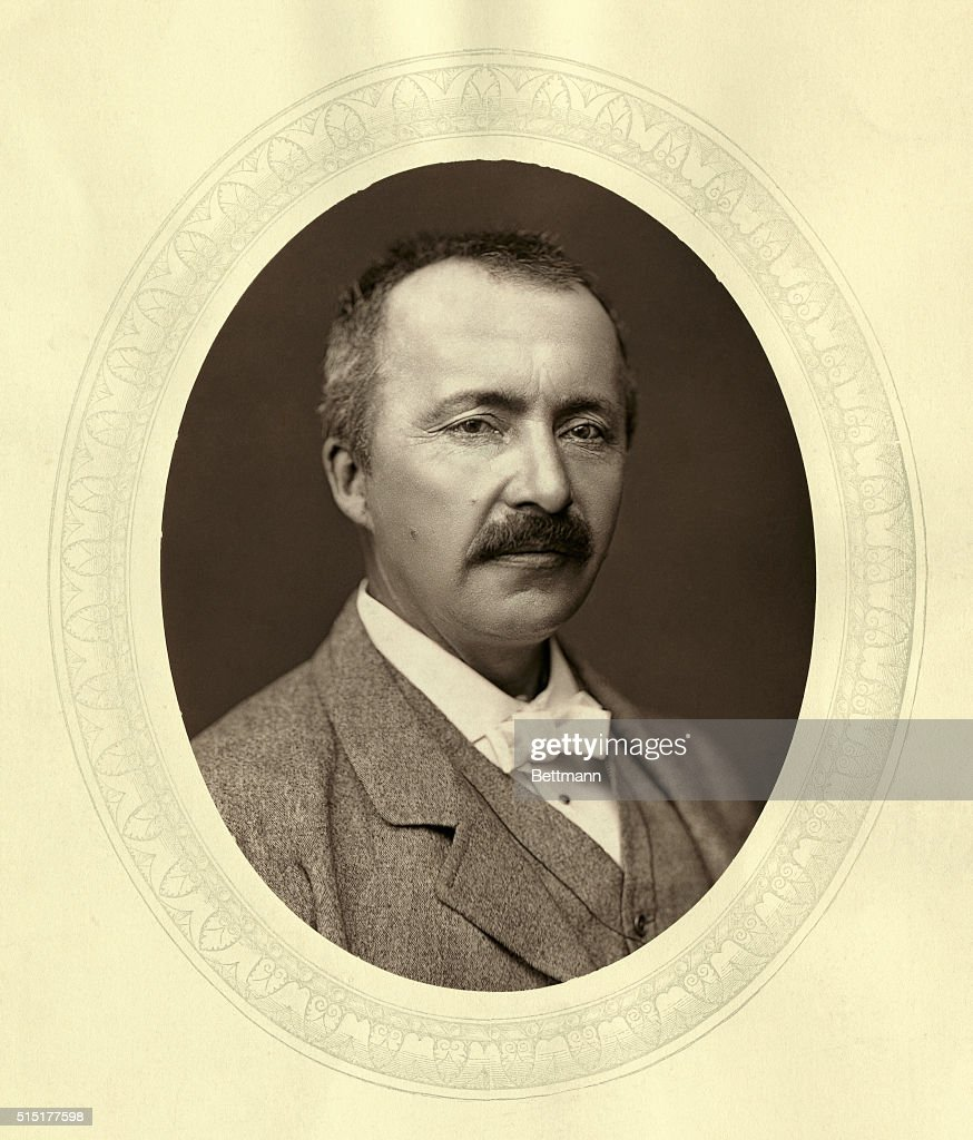 Portrait of Dr. <a gi-track='captionPersonalityLinkClicked' href=/galleries/search?phrase=Heinrich+Schliemann&family=editorial&specificpeople=904664 ng-click='$event.stopPropagation()'>Heinrich Schliemann</a> (1822-1890). German archaelogist-traveller. Undated photograph.
