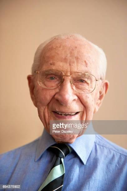 Portrait of Dr William Frankland MBE allergy specialist British AllergySocietyimmunologisthygiene theorypollen countpaediatric allergiesanaphylaxis...