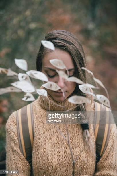 Portrait of dry nature