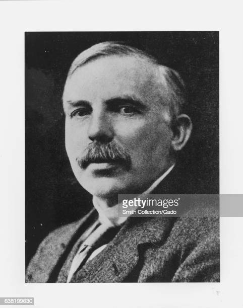 Portrait of Earnest Rutherford winner of the 1908 Nobel Prize in Chemistry 1920 Image courtesy US Department of Energy