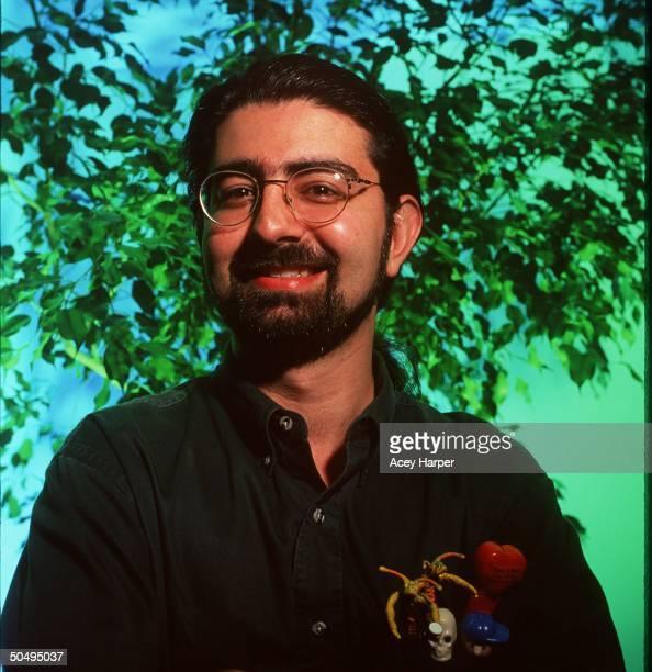 Portrait of eBay online auction site founder Pierre Omidyar