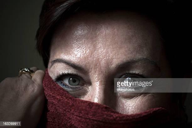 Portrait of Ecuador woman