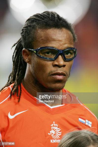 A portrait of Edgar Davids of Holland prior to the Group 1 2006 World Cup Qualifying match between Holland and Finland on October 13 2004 at the...