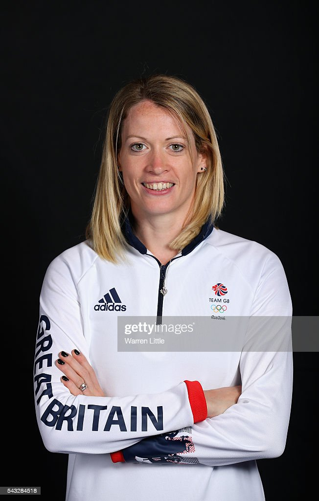 A portrait of <a gi-track='captionPersonalityLinkClicked' href=/galleries/search?phrase=Eilidh+Doyle&family=editorial&specificpeople=15799231 ng-click='$event.stopPropagation()'>Eilidh Doyle</a> a member of the Great Britain Olympic team during the Team GB Kitting Out ahead of Rio 2016 Olympic Games on June 27, 2016 in Birmingham, England.