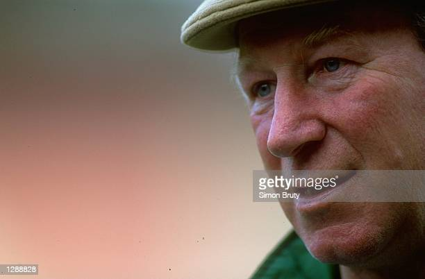 Portrait of Eire Manager Jack Charlton Mandatory Credit Simon Bruty/Allsport