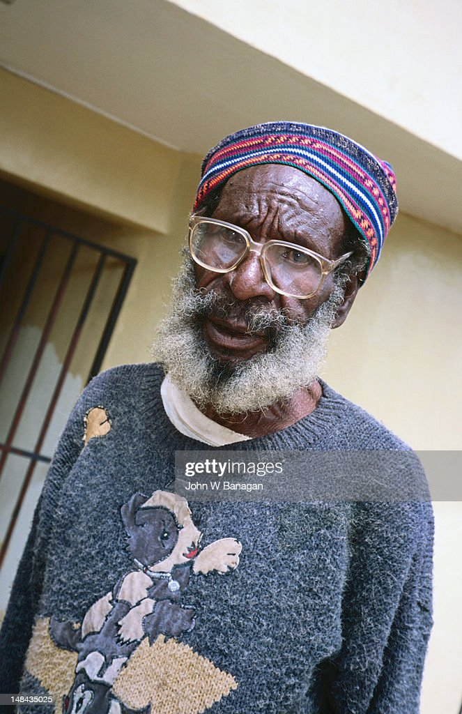 Portrait of elder man.