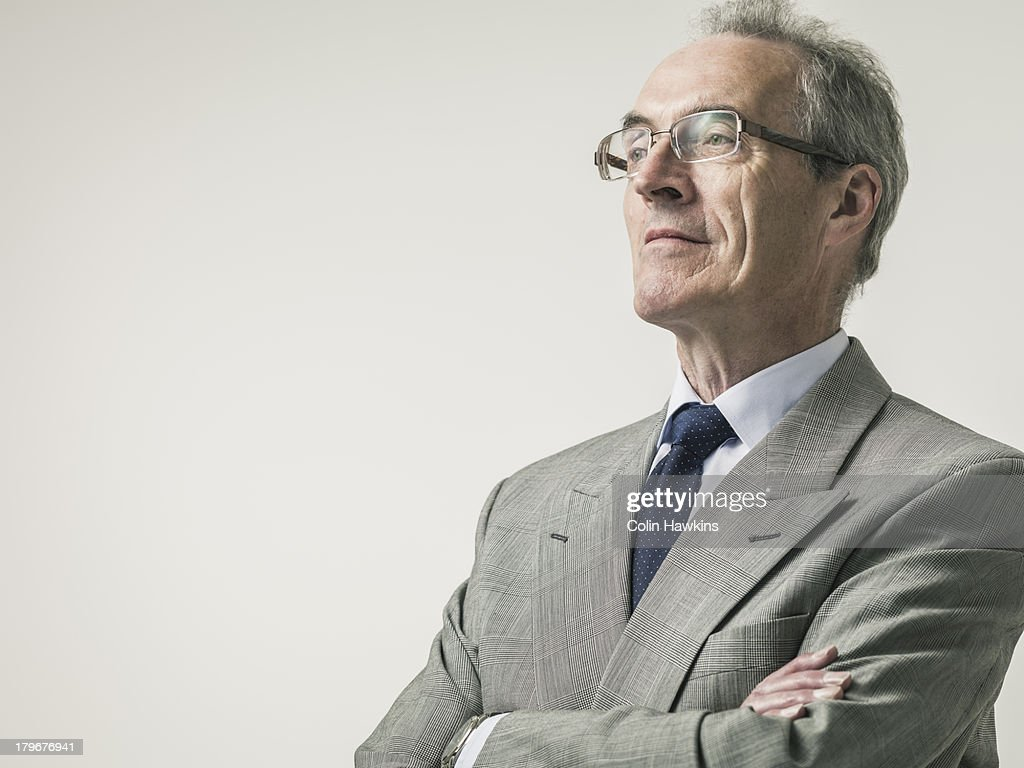 Portrait of elderly Business man