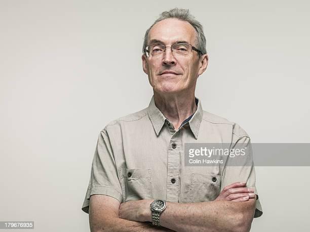 Portrait of elderly male