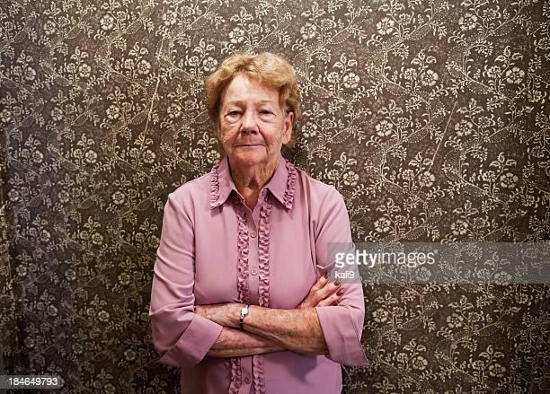 Ritratto di anziani donna