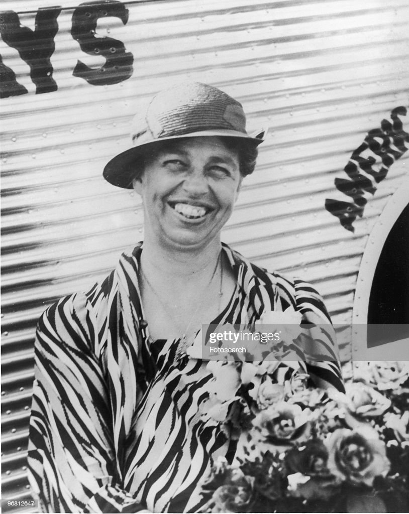 Portrait of <a gi-track='captionPersonalityLinkClicked' href=/galleries/search?phrase=Eleanor+Roosevelt&family=editorial&specificpeople=93348 ng-click='$event.stopPropagation()'>Eleanor Roosevelt</a> smiling in Dallas Texas U.S.A., June 5, 1933. (Photo by Fotosearch/Getty Images).