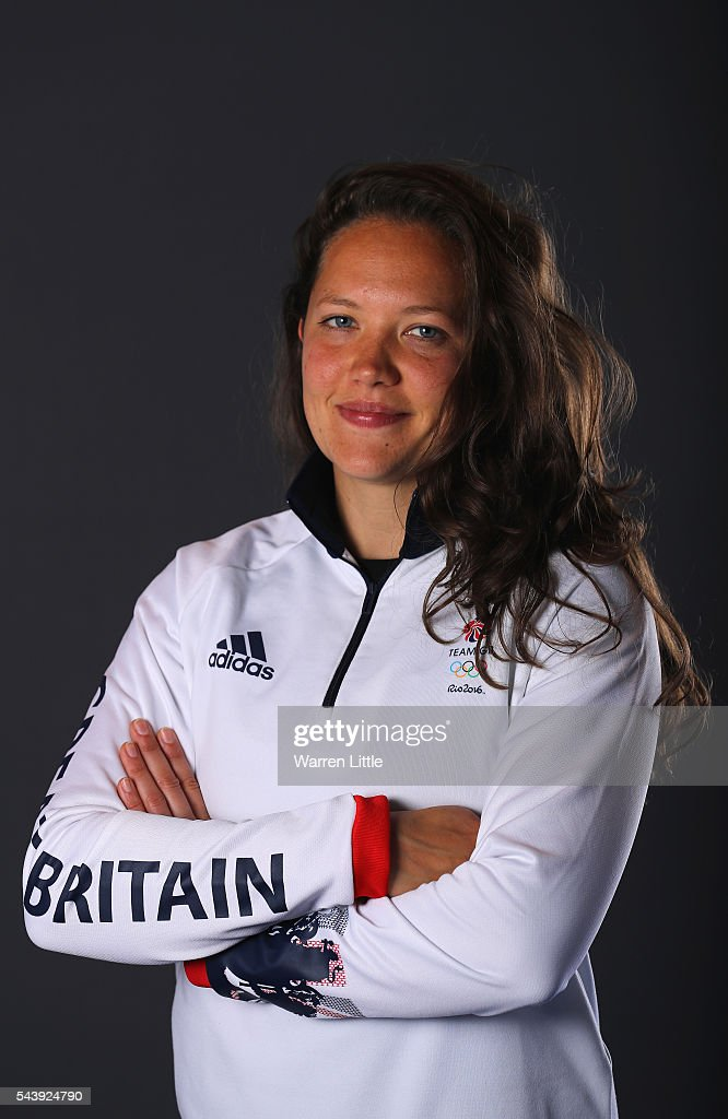 A portrait of Eleanor Watton a member of the Great Britain Olympic team during the Team GB Kitting Out ahead of Rio 2016 Olympic Games on June 30, 2016 in Birmingham, England.